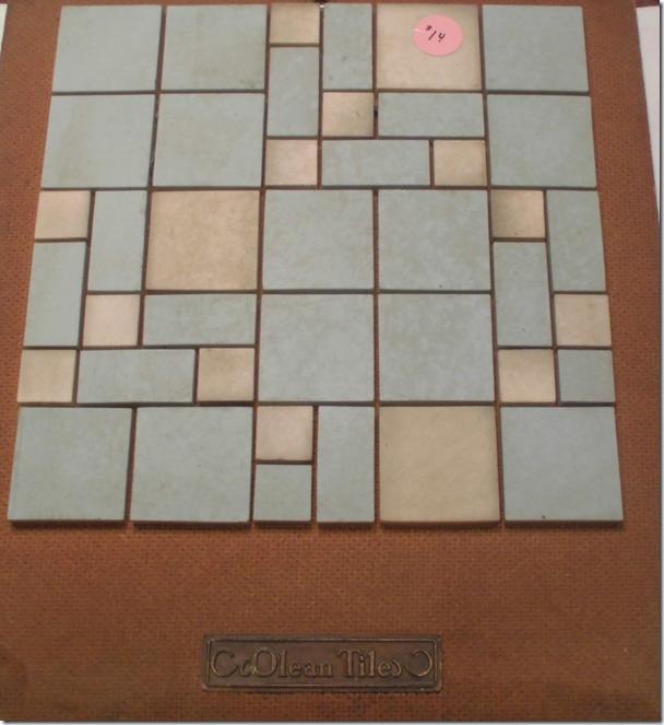 American Orlean Tile Sample 1950s Tile Samples Kitsch Ebay