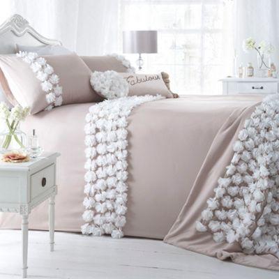 Star by Julien Macdonald Natural \'Oppulence\' bed linen- at Debenhams ...