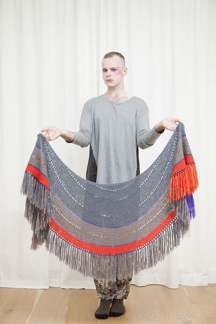 Fringed Pattern By Stephen West Shawl Crochet And Knit Shawls