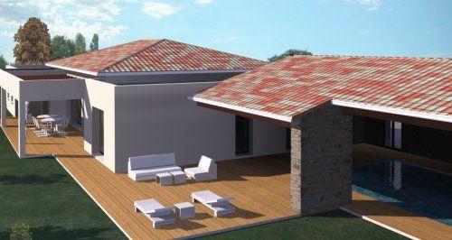 CONSTRUCTION-86FR u003e Plans maison contemporaine maison moderne