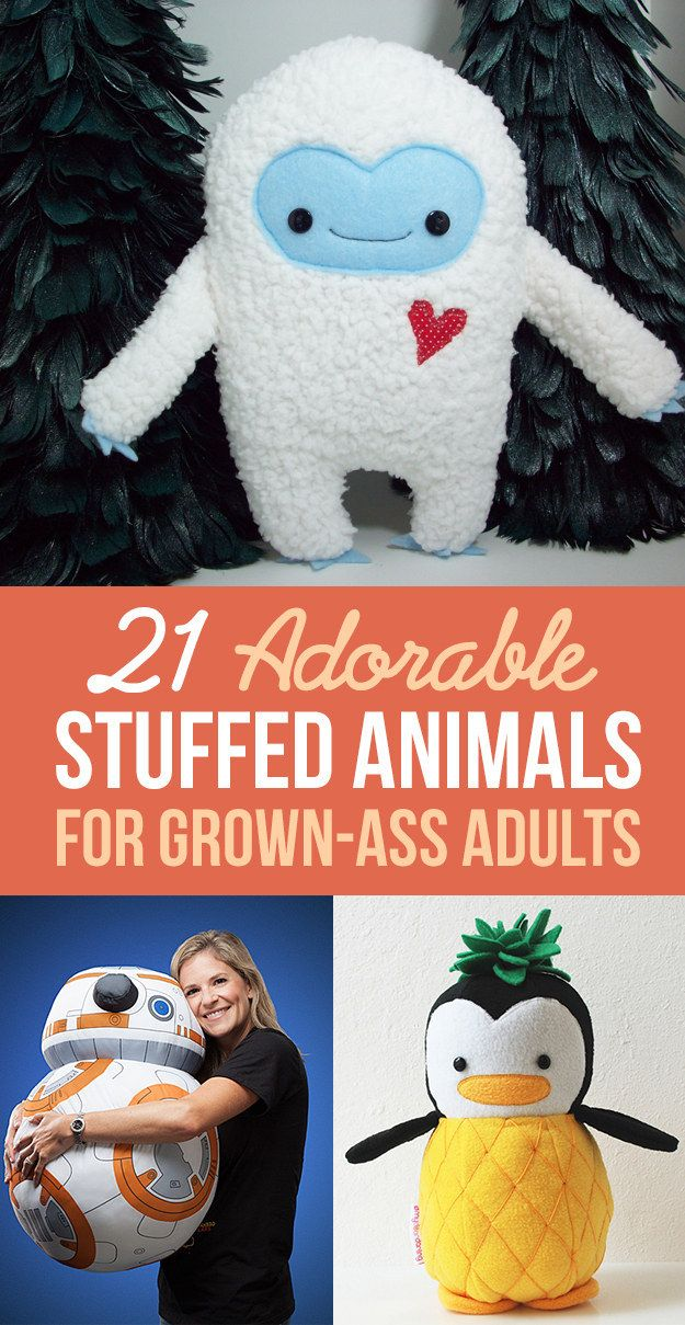 21 Adorable Christmas Makeup Ideas 2013: 21 Adorable Stuffed Animals For Grown-Ass Adults