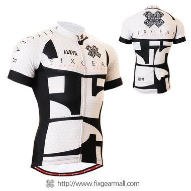 FIXGEAR CS-g402 Men/'s Short Sleeve Cycling Jersey Bicycle Apparel Roadbike MTB
