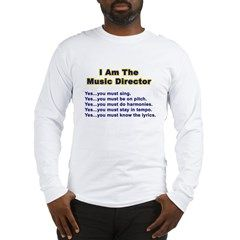 The Music Director's rules.