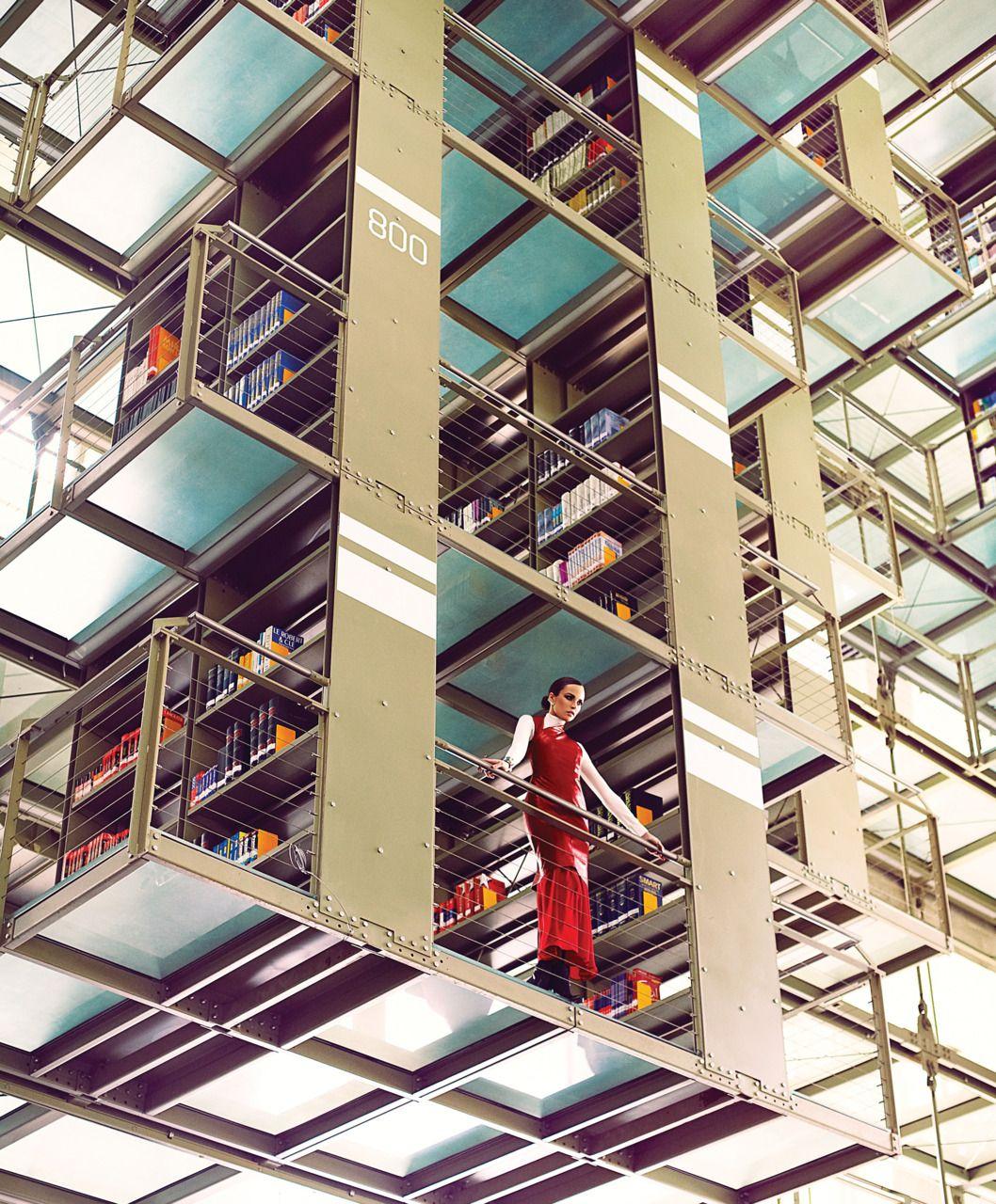 Biblioteca Vasconcelos Mexico 建築 建築物 世界