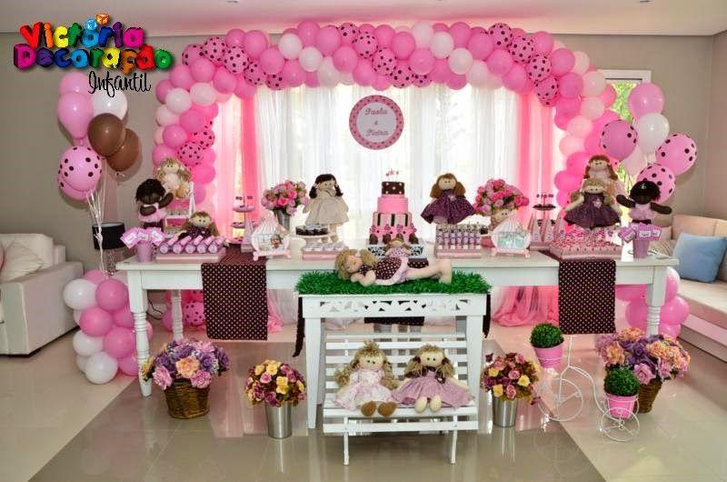Bonecas De Pano Paola E Pietra Decoracao Festa Infantil