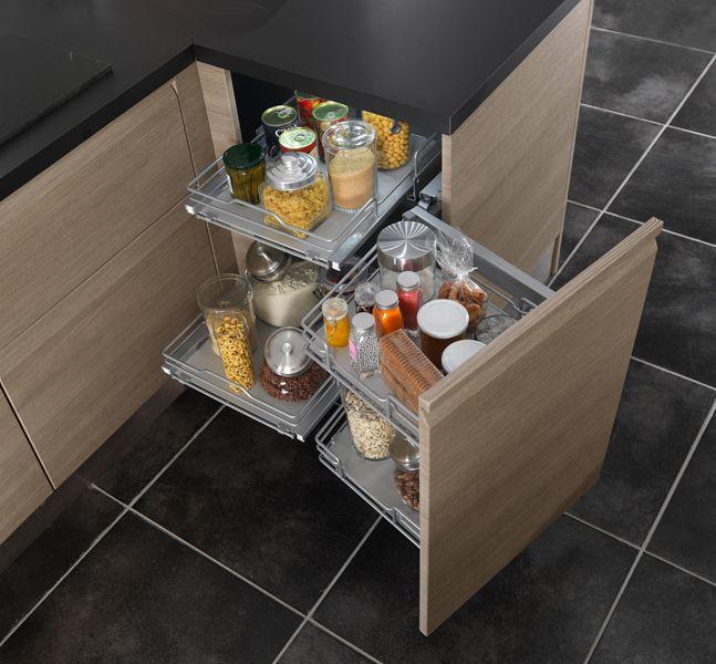 Des Rangements Malins Pour Une Cuisine Pratique Lapeyre - Lapeyre meuble cuisine pour idees de deco de cuisine