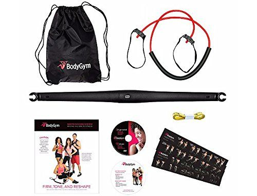 84716ea0c4b7 Deluxe Portable Resistance Band Home Gym with DVDs and Bag