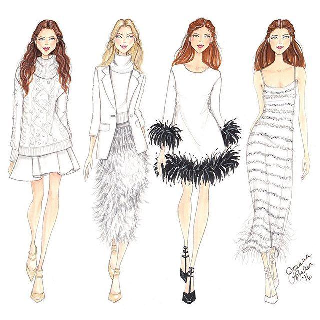 Rachel Zoe Genius Décor Ideas From Instagram: Winter Whites At Rachel Zoe Fall 2016 -- Joanna Baker