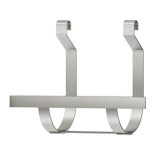 Grundtal Papertowel Holder Ikea Saves E On The Countertop Can Be Hung Rail Or