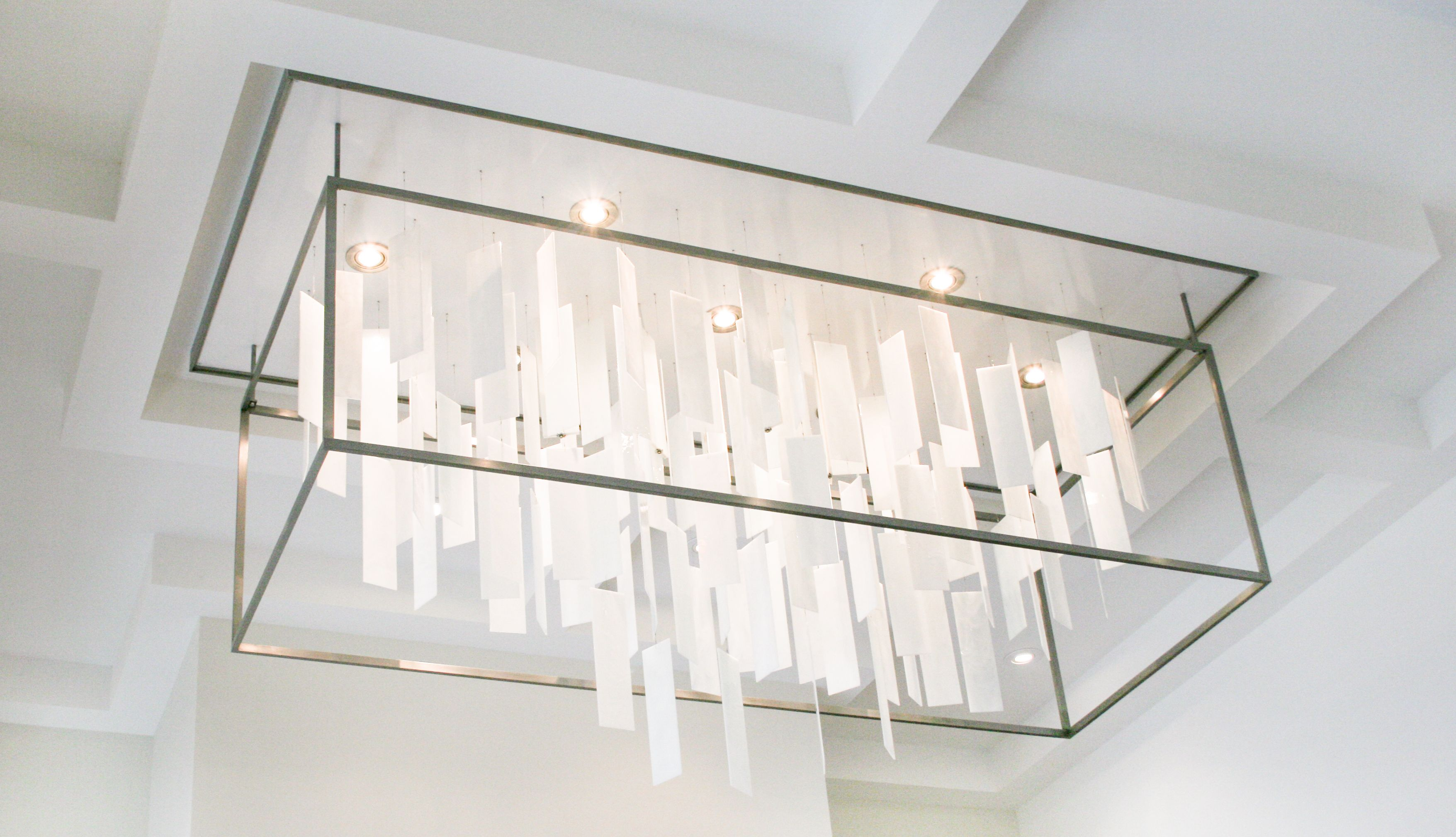 by sn pureedge universo rectangle index univ suspension light fixture lighting
