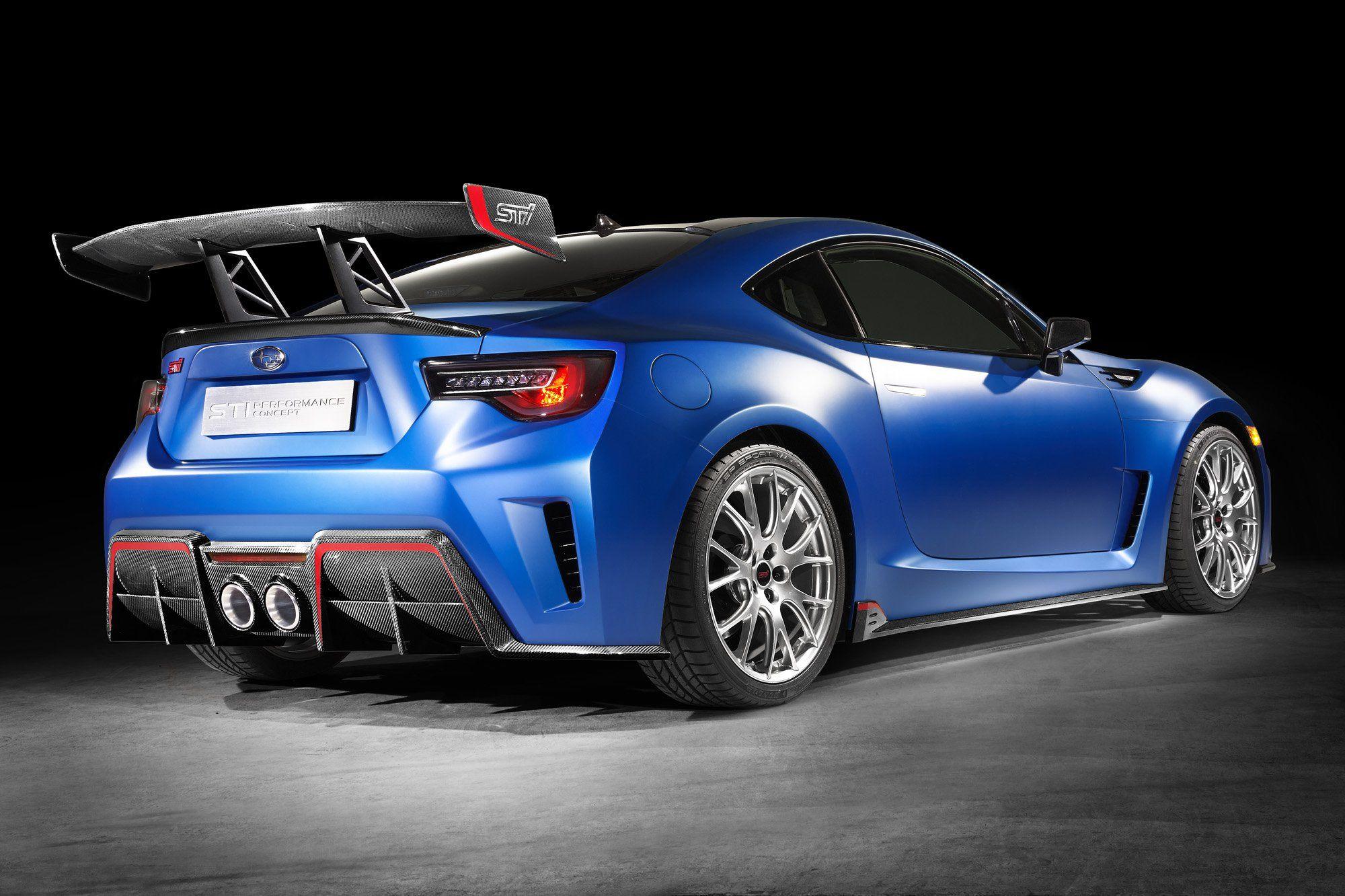 Subaru Sti Performance Concept Makes 350 Hp Autoguide News
