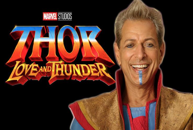Jeff Goldblum Hints Grandmaster S Return In Marvel S Thor Love And Thunder Marvel Thor Thor Title Card