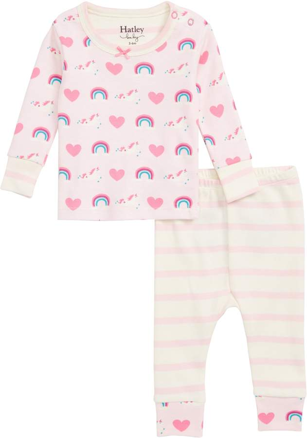 03395a8d4 Hatley Organic Cotton Fitted Two-Piece Pajamas