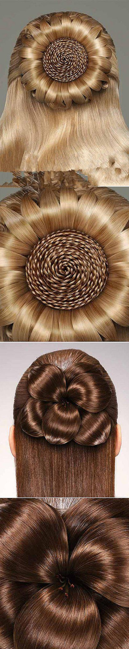 Photo of long hair styles for women braided updos
