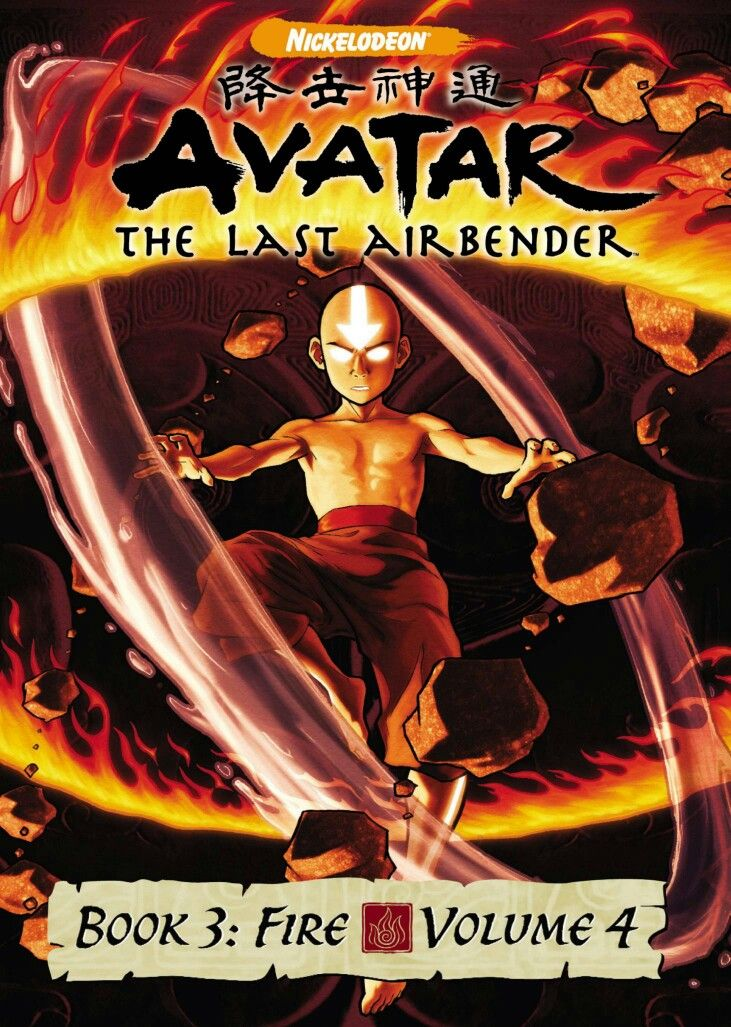 Avatar The Last Airbender Book Fire 4 Com Imagens Avatares