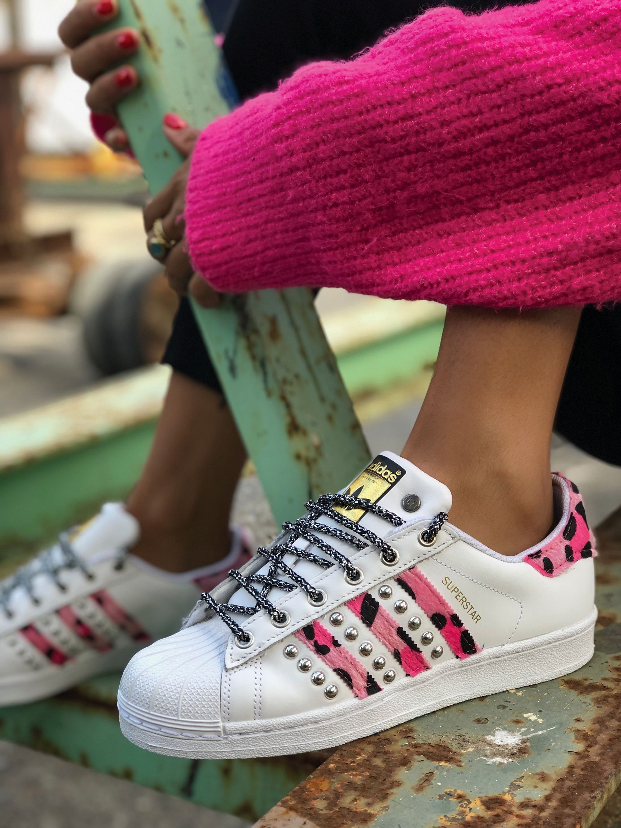 Adidas Stan Smith TOTAL MIMETIC Custom by Muffin #muffinshop