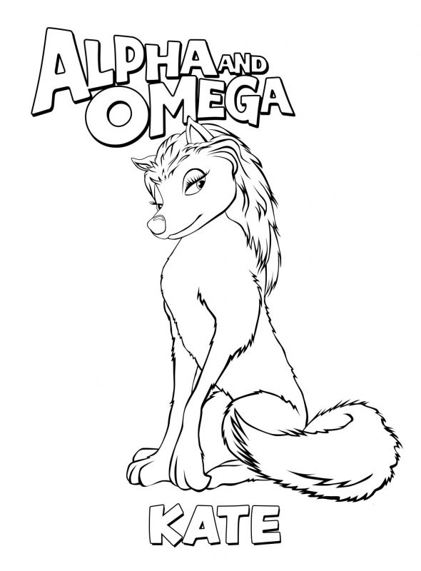 Alpha And Omega Coloring Pages 3 qap0 coloring pages Pinterest