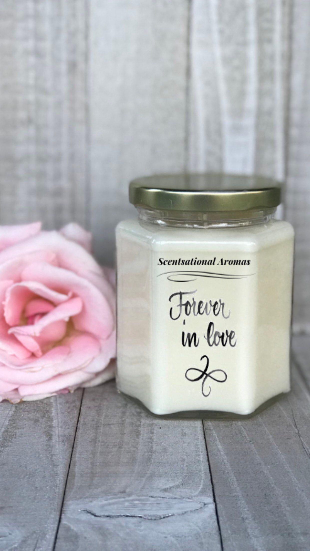 Old Fashioned Customized Candles Wedding Favors Festooning - Wedding ...