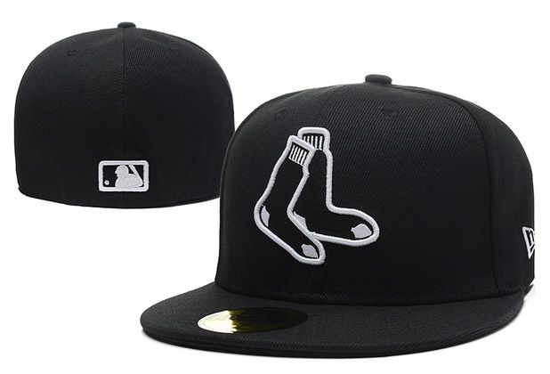 Boné · Cheap MLB Boston Red Sox 59Fifty Hats Retro Classic Pop Caps Black  073 b14962be316