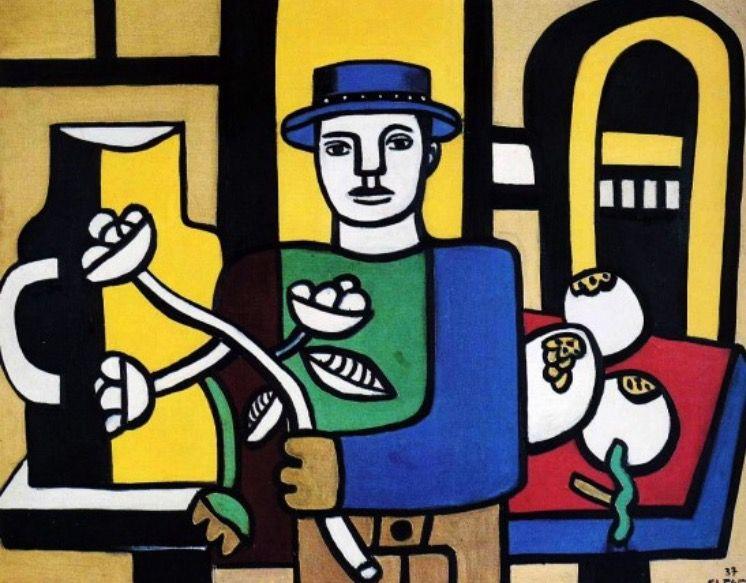 Cernes Comme Fernand Léger Le La Contours Et Peinture Cerne Utilise wE5vWFqH
