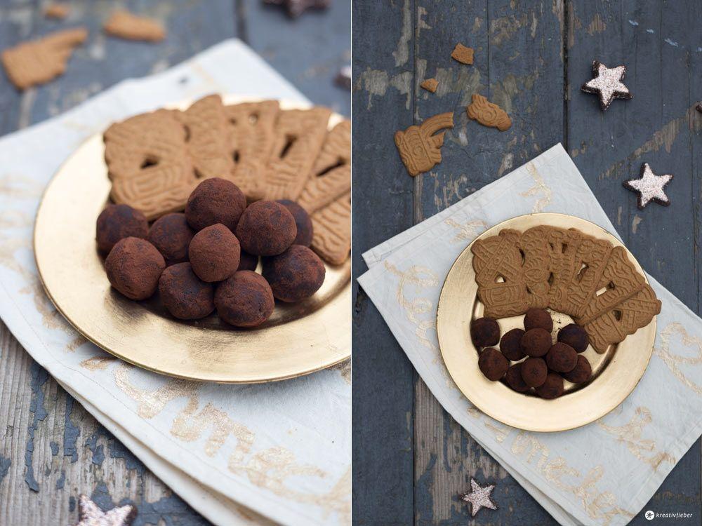 Spekulatius Trüffel selbermachen - Geschenkideen aus der Küche - Weihnachtspralinen