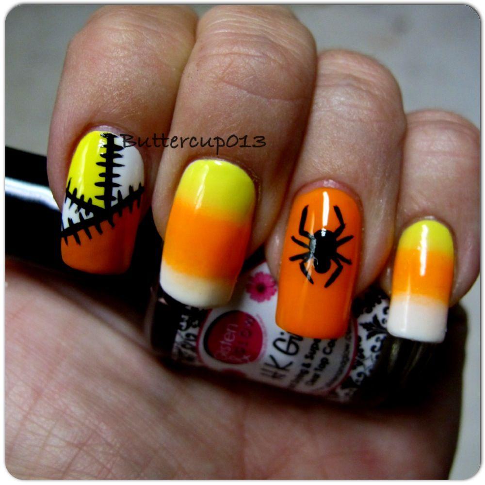 Nail Art Ideas Candy Corn Nail Art Designs Pictures Of Nail Art