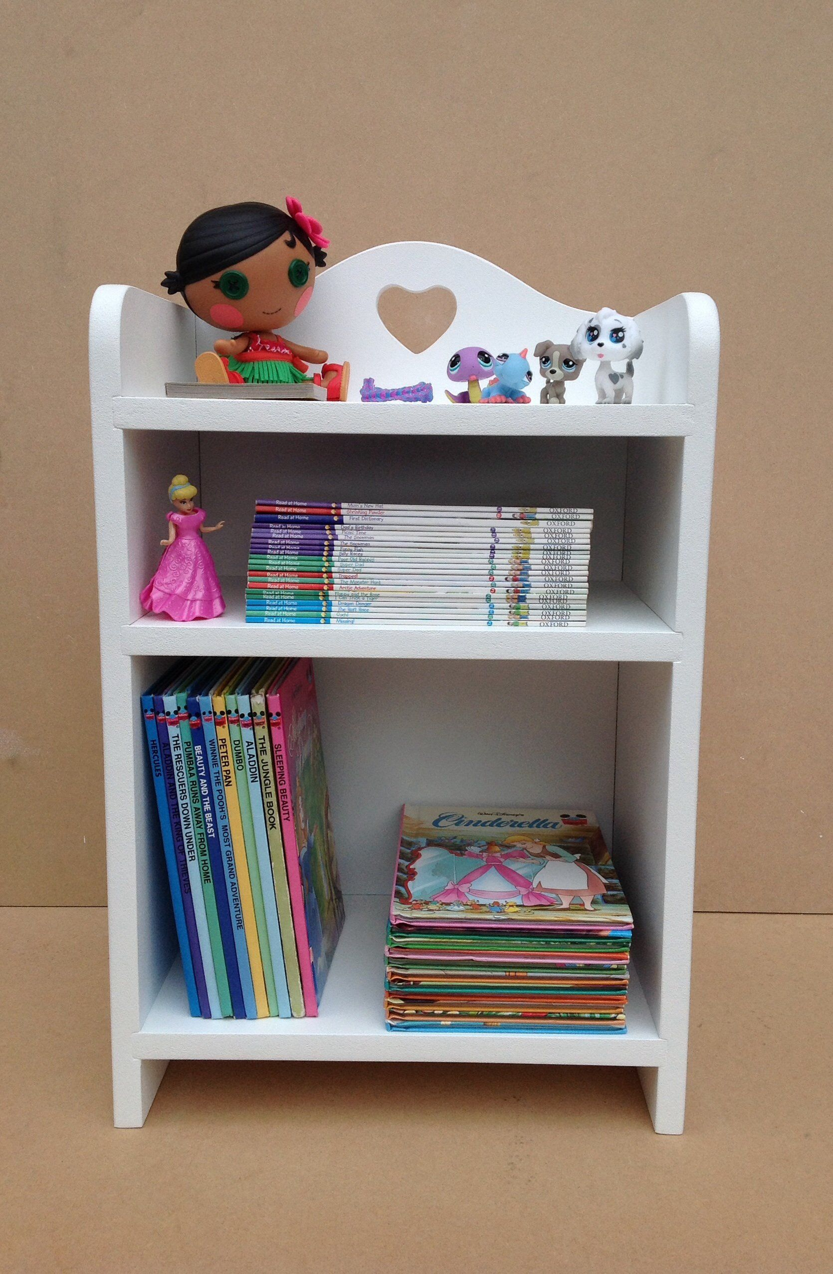 pinterest pin bookcase kid girls dollhouse kraft cottage
