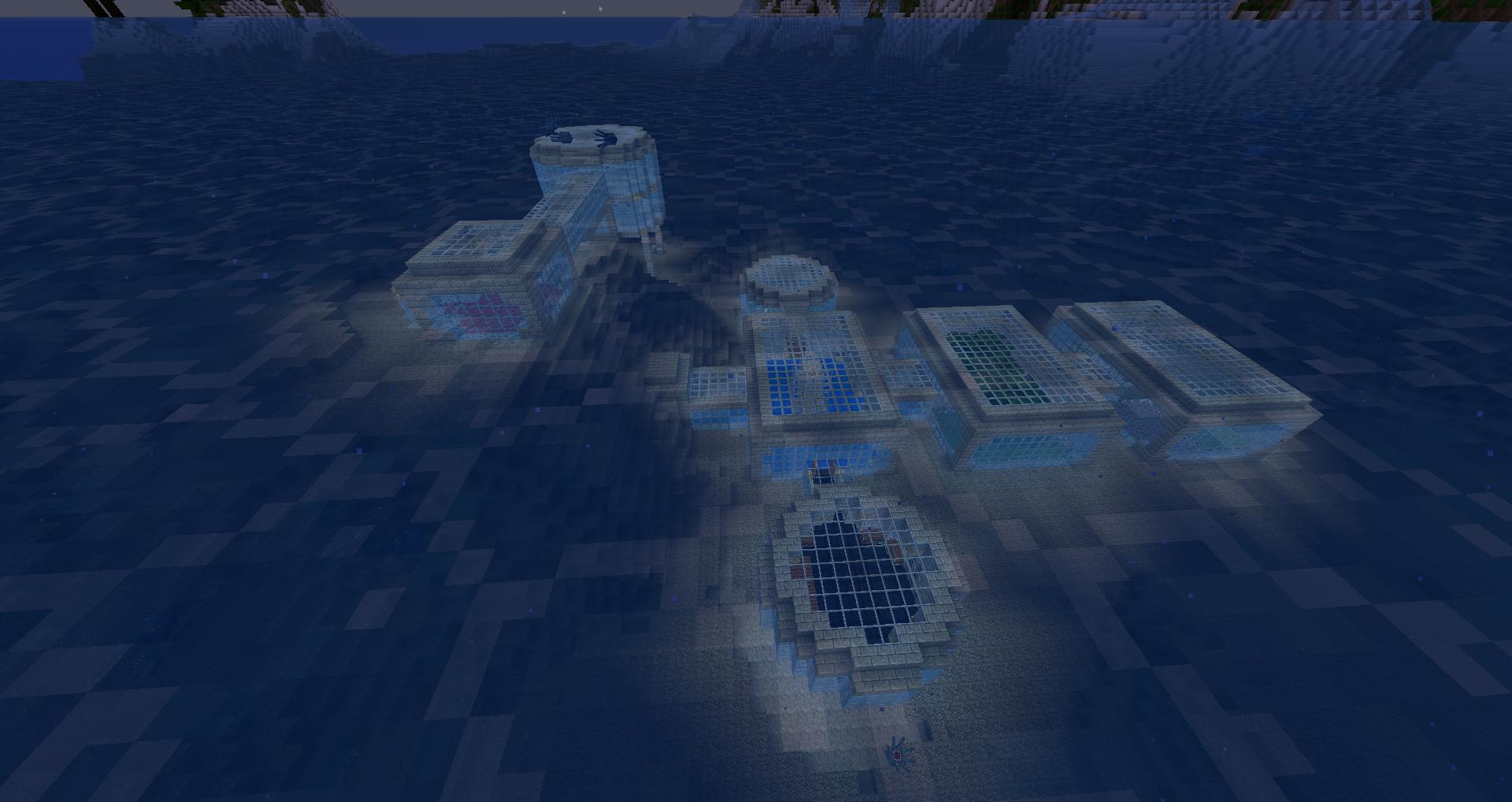 My underwater base | All My Geekness | Minecraft underwater