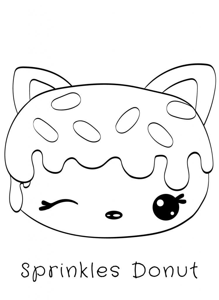 donut coloring pages  donut coloring page free kids