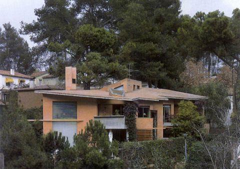 Enric Miralles, Bellaterra. Casa Garau Agustí
