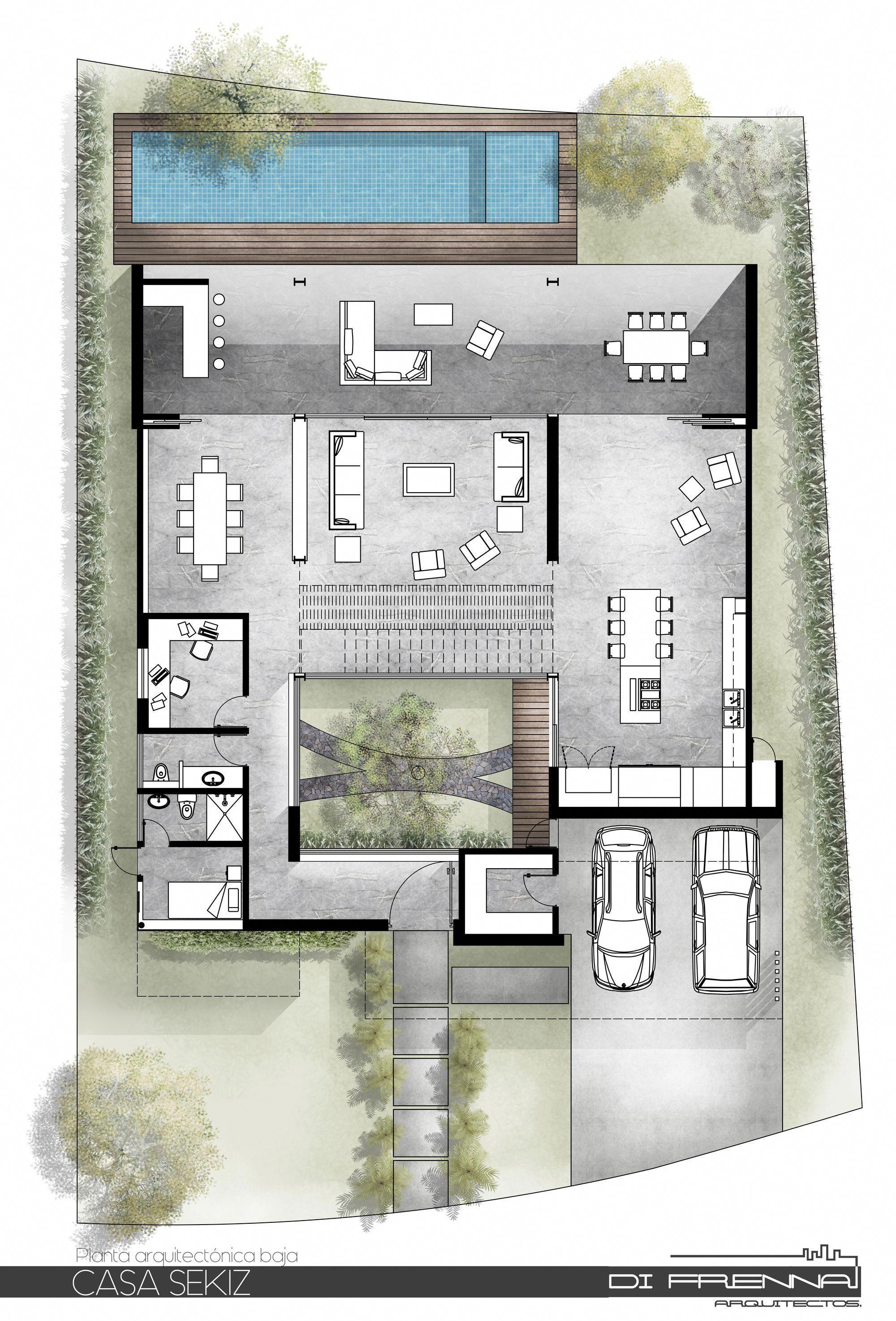 Modern Home Design Thailand Modernhomedesign Architecture House Architectural Floor Plans Minimalist House Design