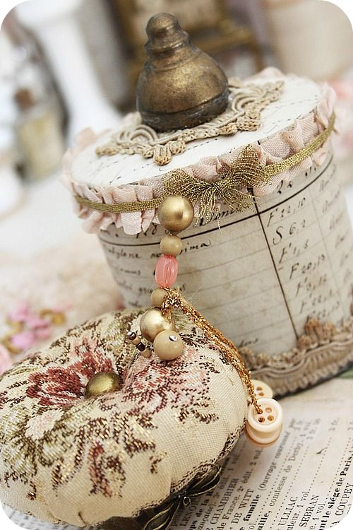 The shabby chic look usually has a lot of white, neutrals, and bright colors. These beautiful accessories will transform a space, giving it the essence of shabby chic style. The women who have made these beautiful things are true crafters.