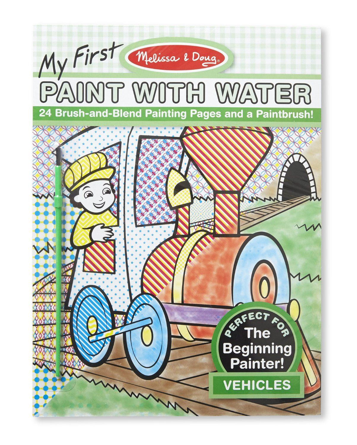 Amazon.com: Melissa & Doug My First Paint with Water - Vehicles ...
