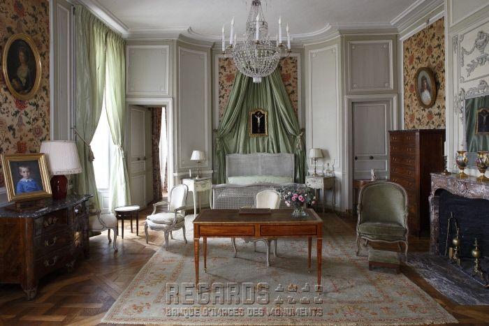 Chateau De La Motte Tilly Chateaux Interiors French Interior French Interior Design