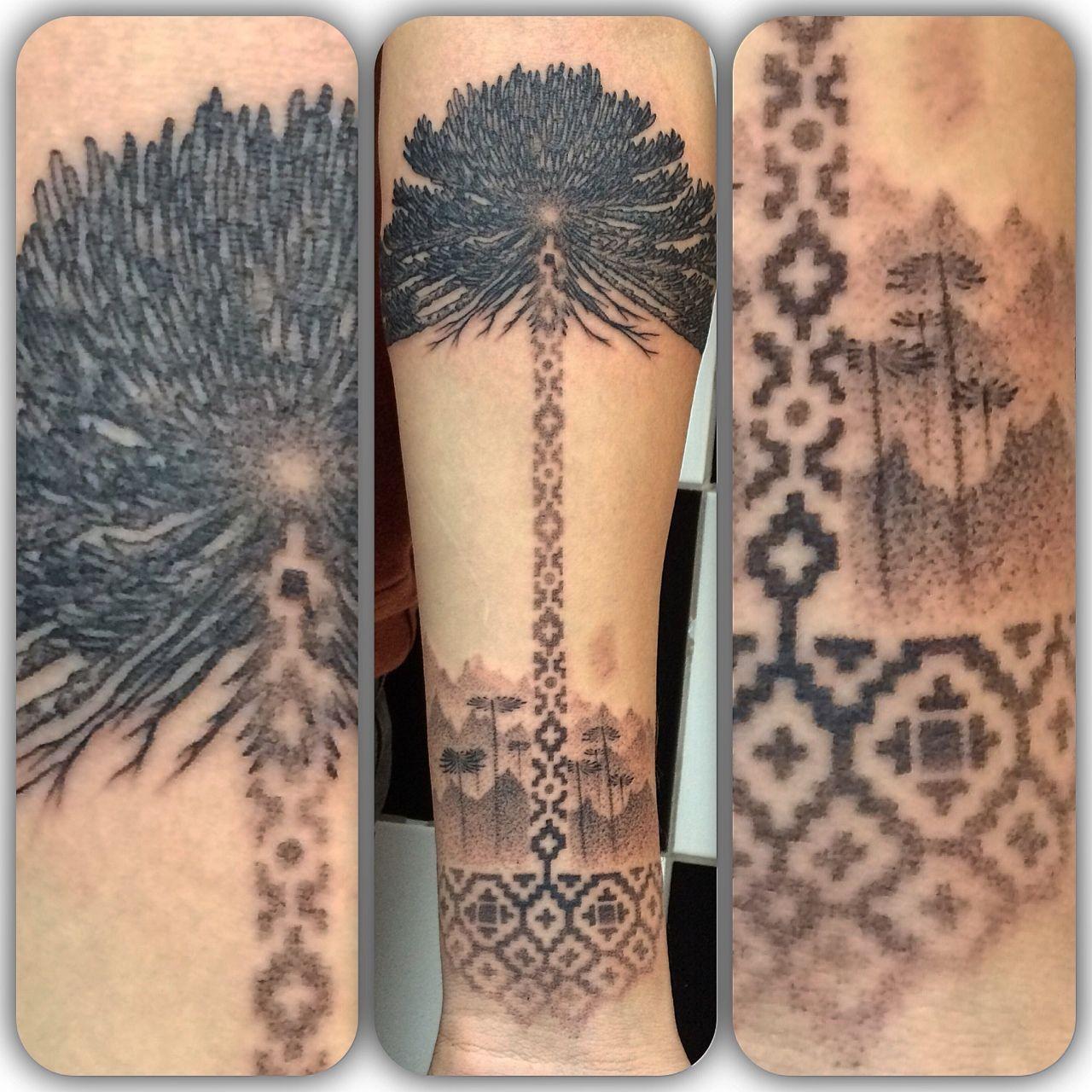 Crayon melting art images amp pictures becuo - Tatuajes De Araucaria Buscar Con Google
