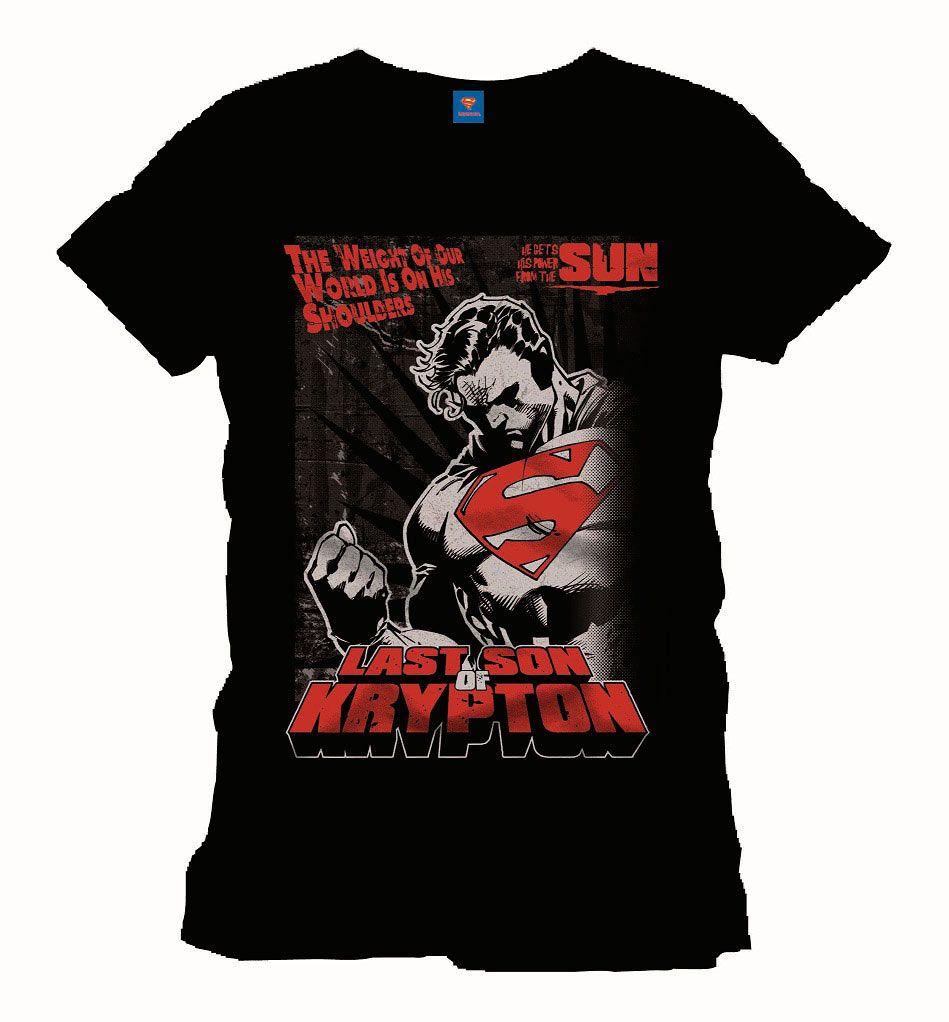 Camiseta Superman. Man of Steel. The Force