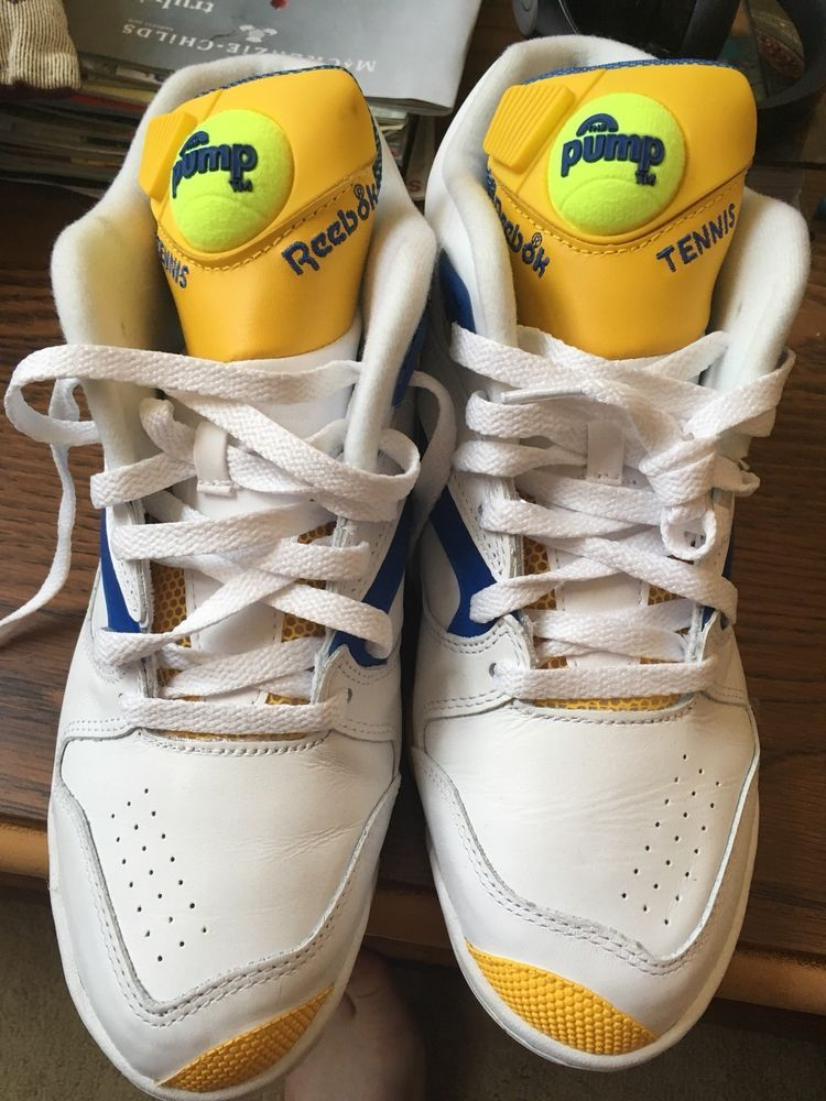 huge selection of 11b1d 75f27 reebok court victory pump Sz 10.5 Tennis Rare  fashion  clothing  shoes   accessories  mensshoes  athleticshoes (ebay link)