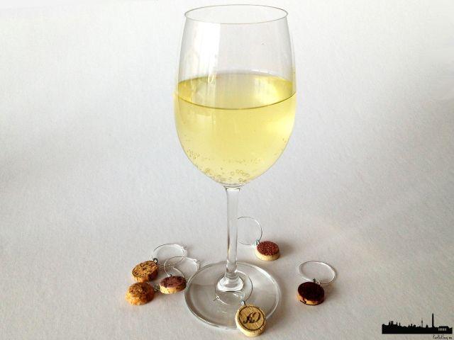Weinkorken Anhänger für Gläser_wine cork charms