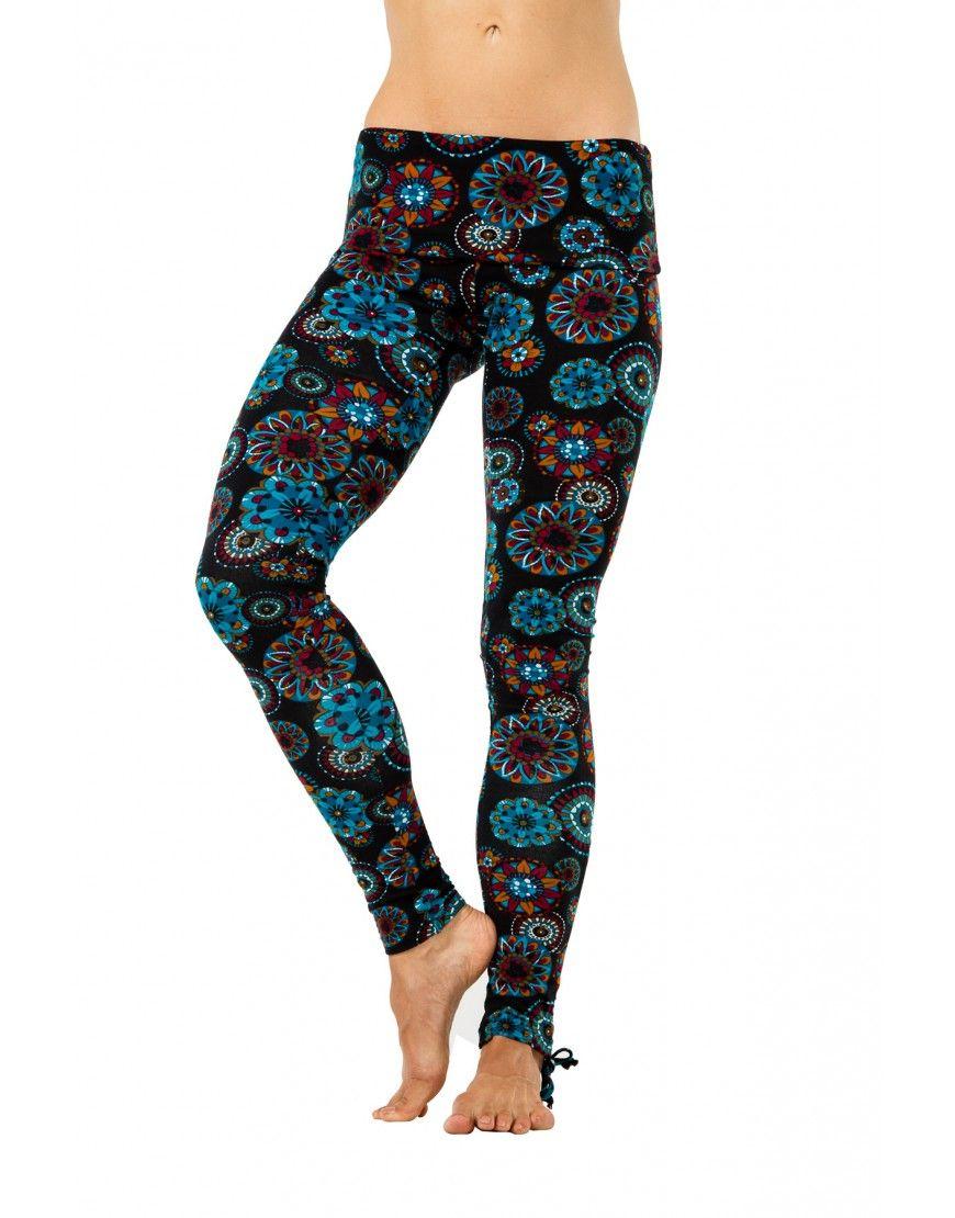 ORGANIC Cotton Yoga Leggings Yoga Pants Printed Legging