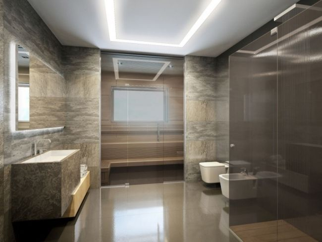 salle de bain moderne en 90 idées d'aménagement réussi | salles de ... - Salle De Bain Ultra Moderne