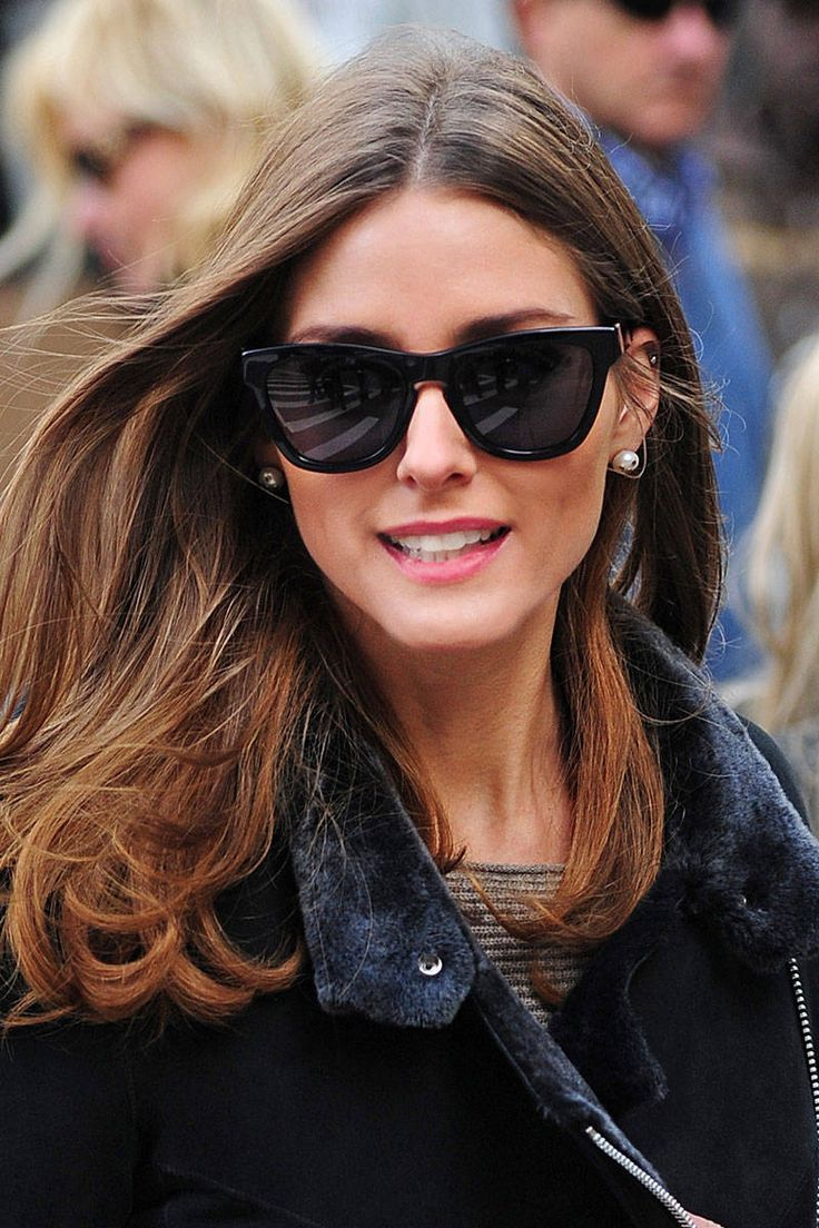 The latest cat-eye designs are a decidedly modern accessory for those with  oval faces, like Olivia Palermo. - ELLE.com 57a2fc58f7