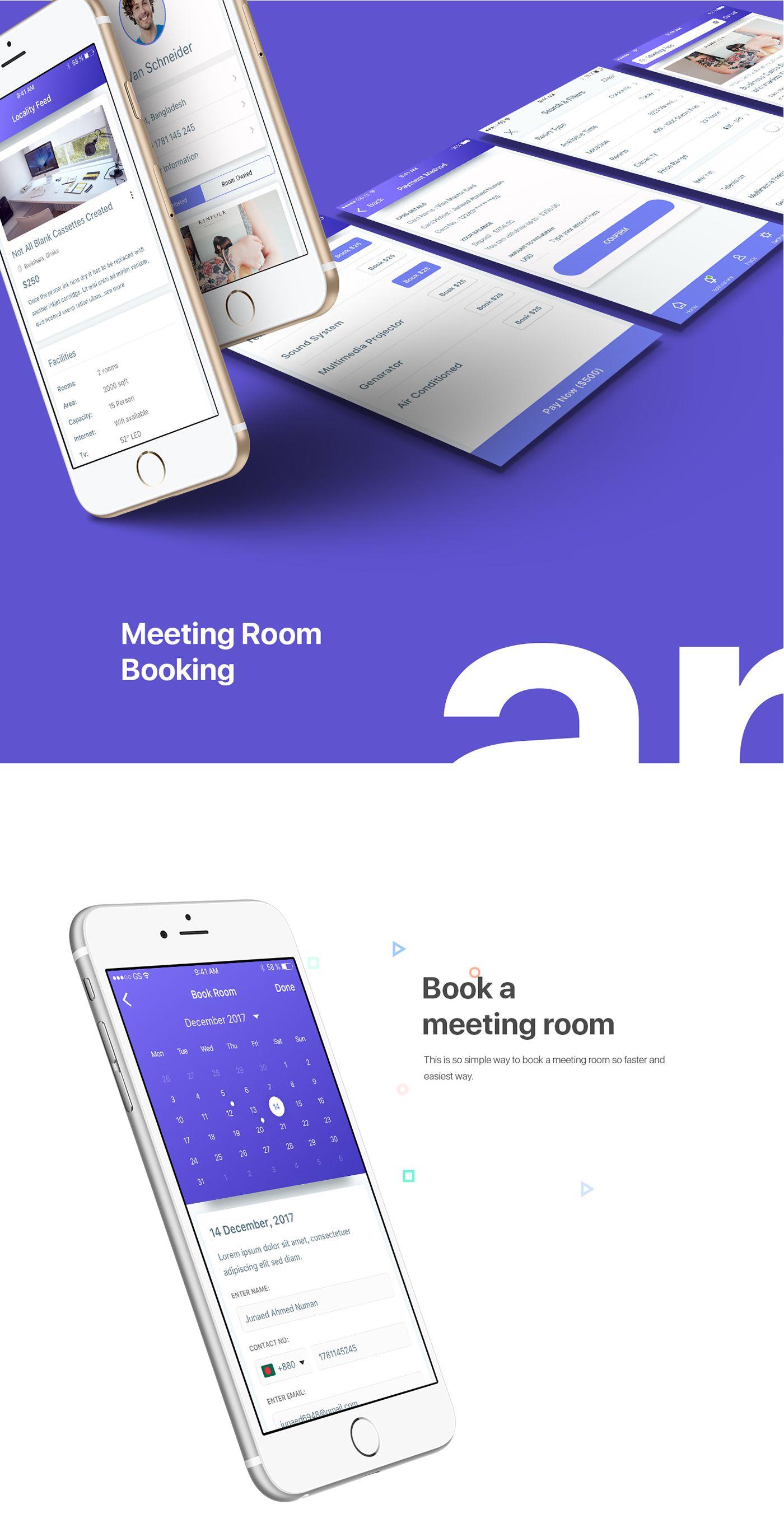 Design My Room App: IOS App Design Concept On Behance