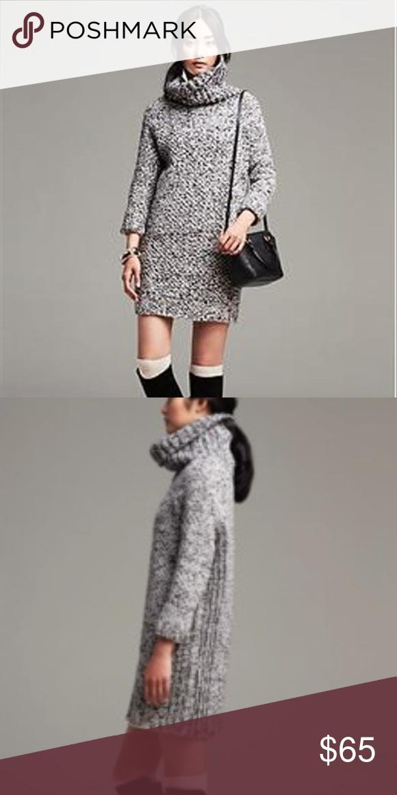 17ac4ba3e68 Banana Republic Heritage Marled Sweater Dress
