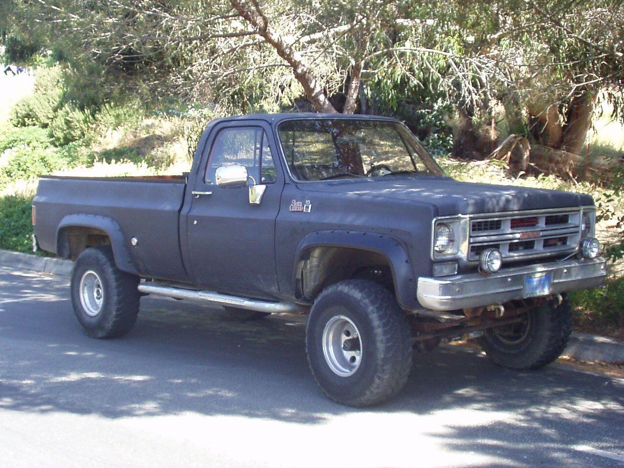 1975 gmc 4x4 pickup 1977 gmc 1500 4x4