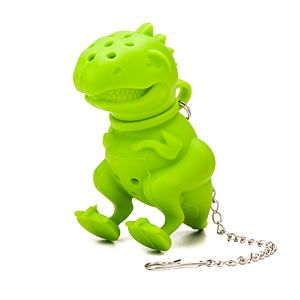 ThinkGeek :: T-Rex Tea Infuser- aughhh! someone get this for me!!!! augh!