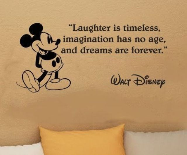 Walt Disney Quote Unique Walt Disney Quote  Will's Room  Pinterest  Walt Disney Quotes