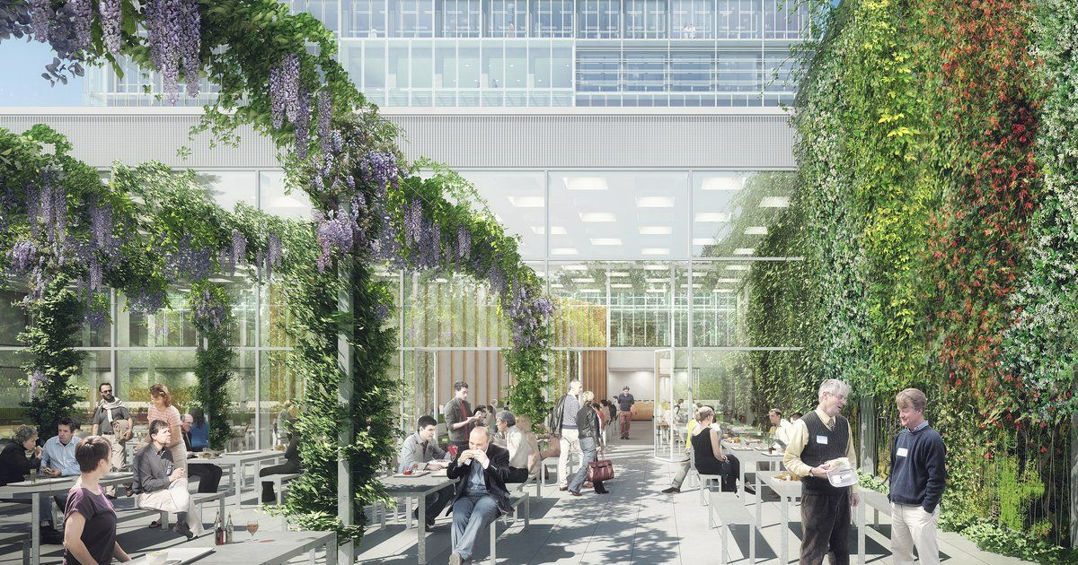 Hns landscape architects new building for the public