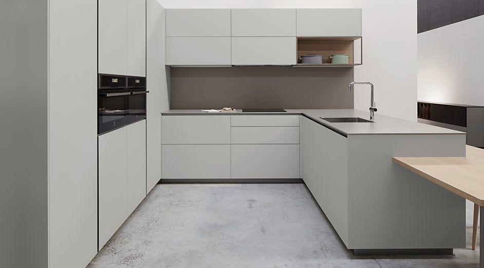 Cocina sin tirador Las cocinas dica Serie45 son modernas