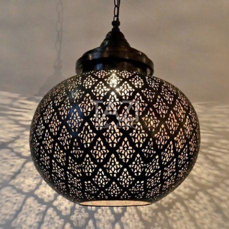 Modern Moroccan Pendant Light Dahon, Moroccan Outdoor Lamps Uk