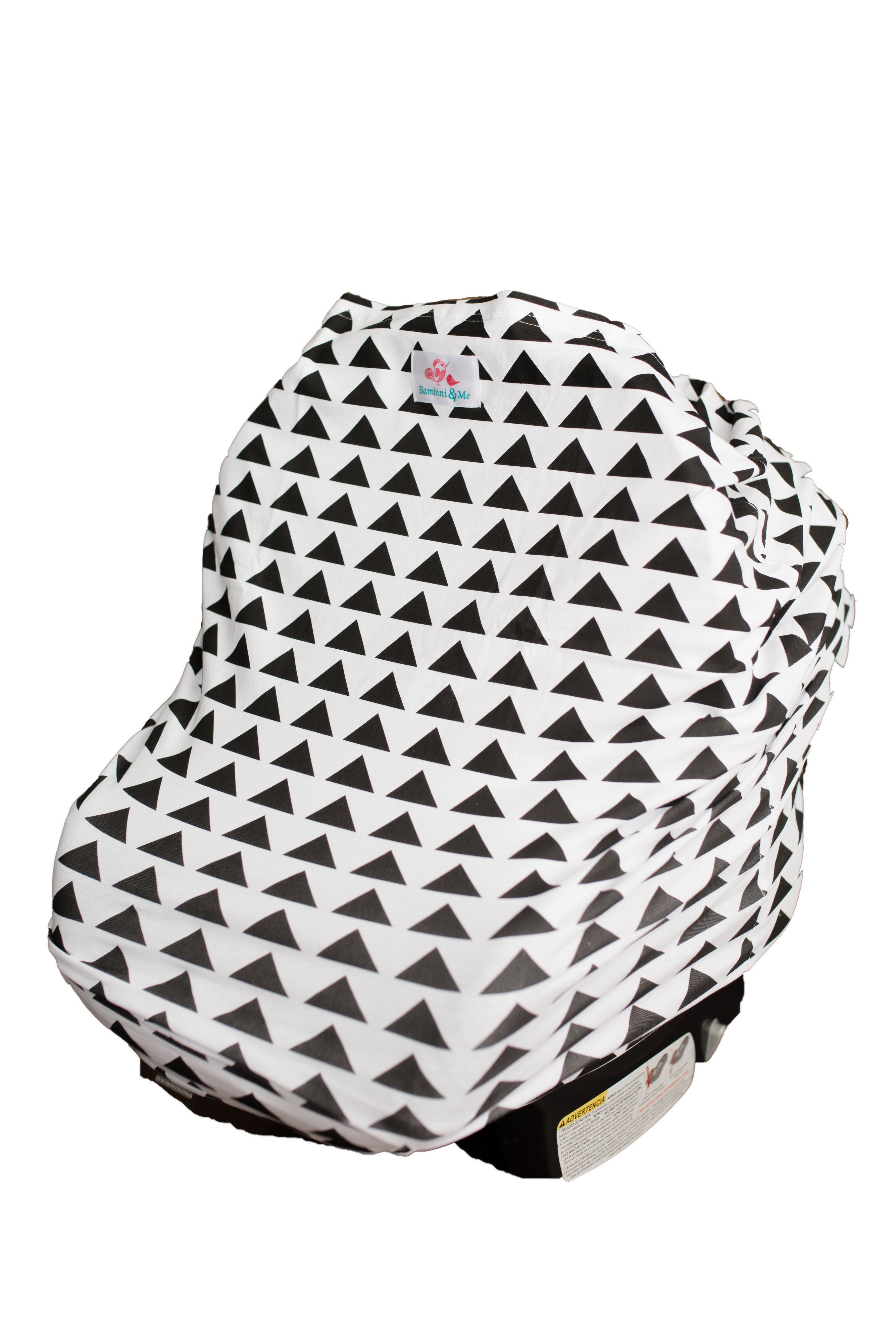 Bambini me 4in1 car seat cover fabric canopy infant